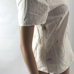 Olivia Grey Tops - Olivia Grey Women's Top 100% Cotton Scoop Neck S